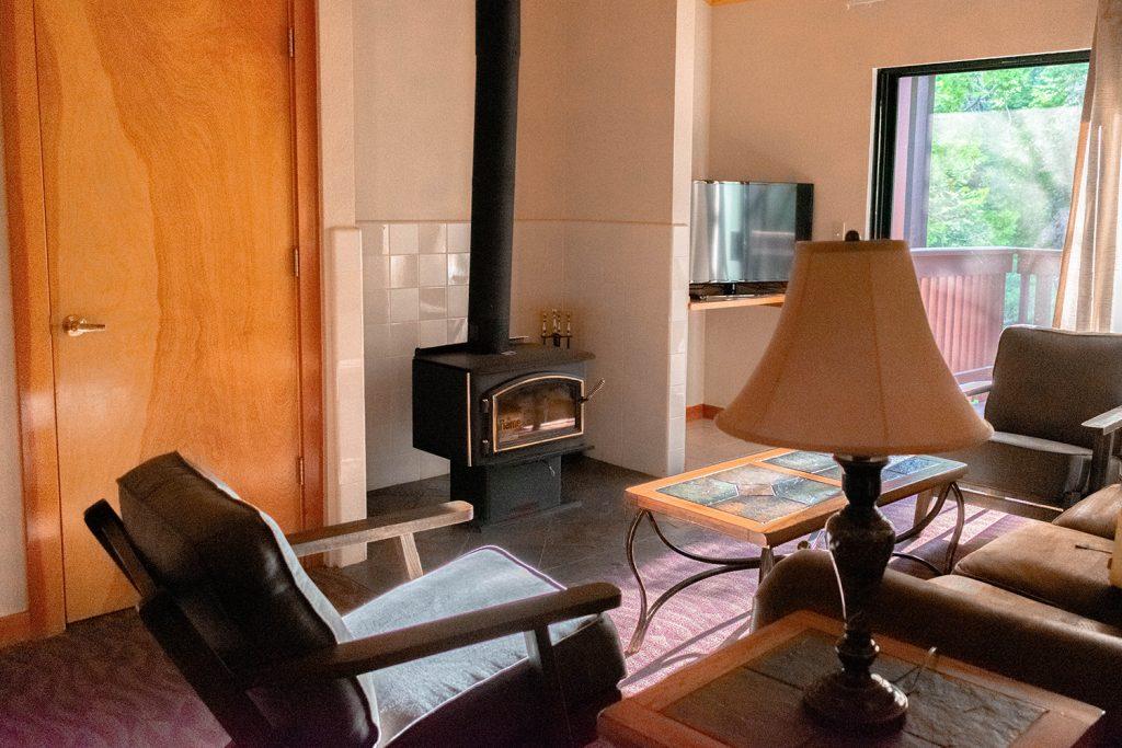 A lodge suite at Granlibakken Tahoe
