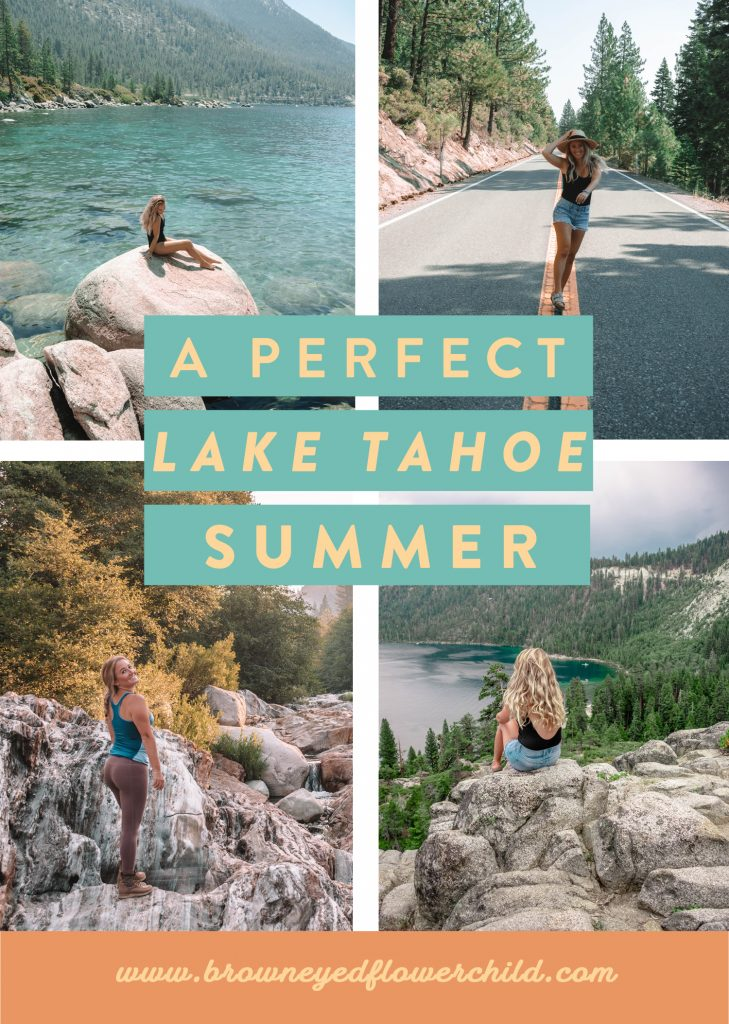 A perfect Lake Tahoe Summer