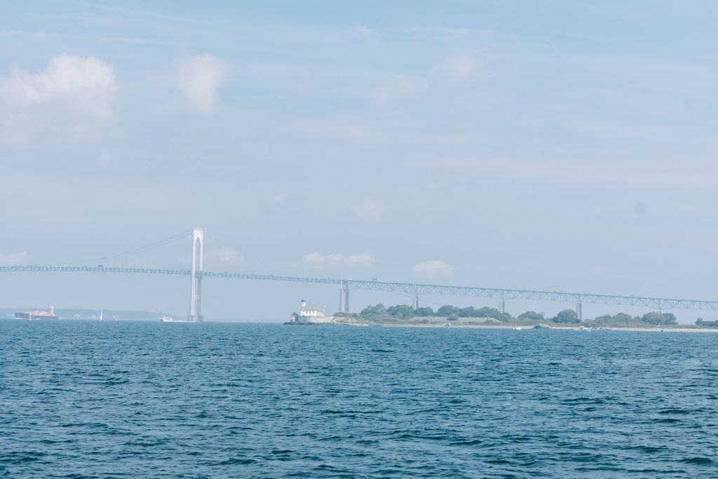 The Pell Bridge in Newport, RI