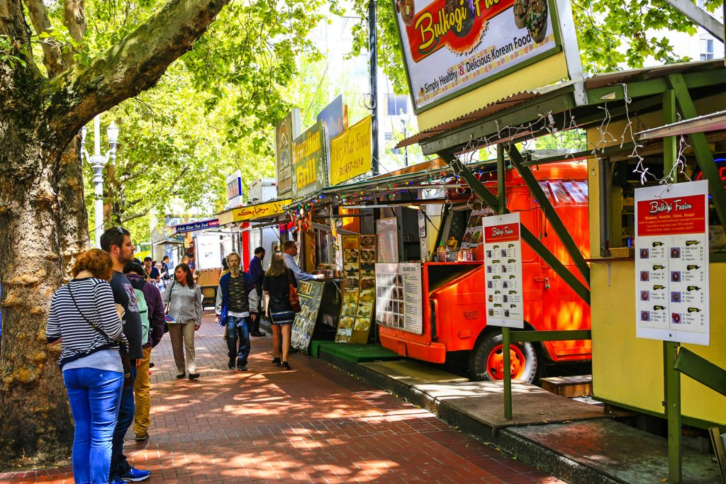 Portland, Oregon Food Carts