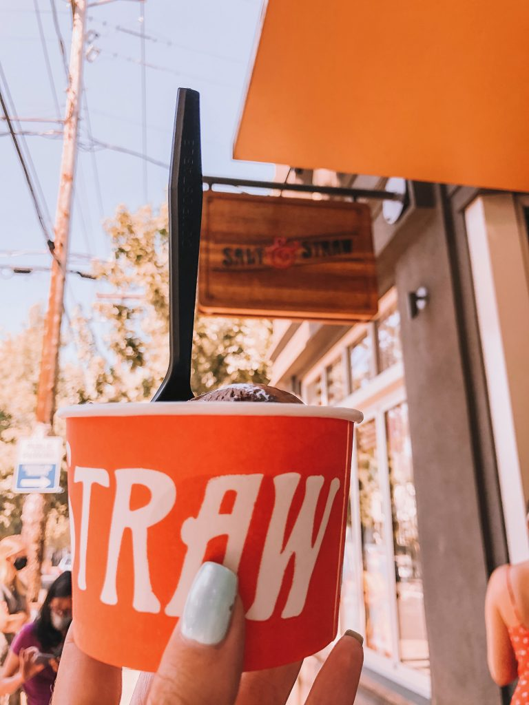 Ice cream from Salt and Straw in Portland, Oregon