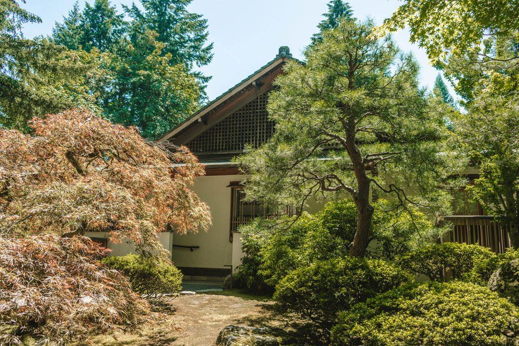 A Japanese house in Portland, Oregon
