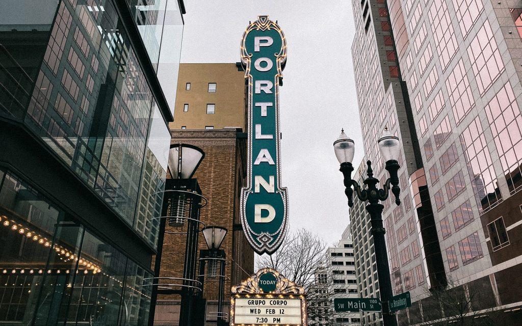 A Portland, Oregon theater