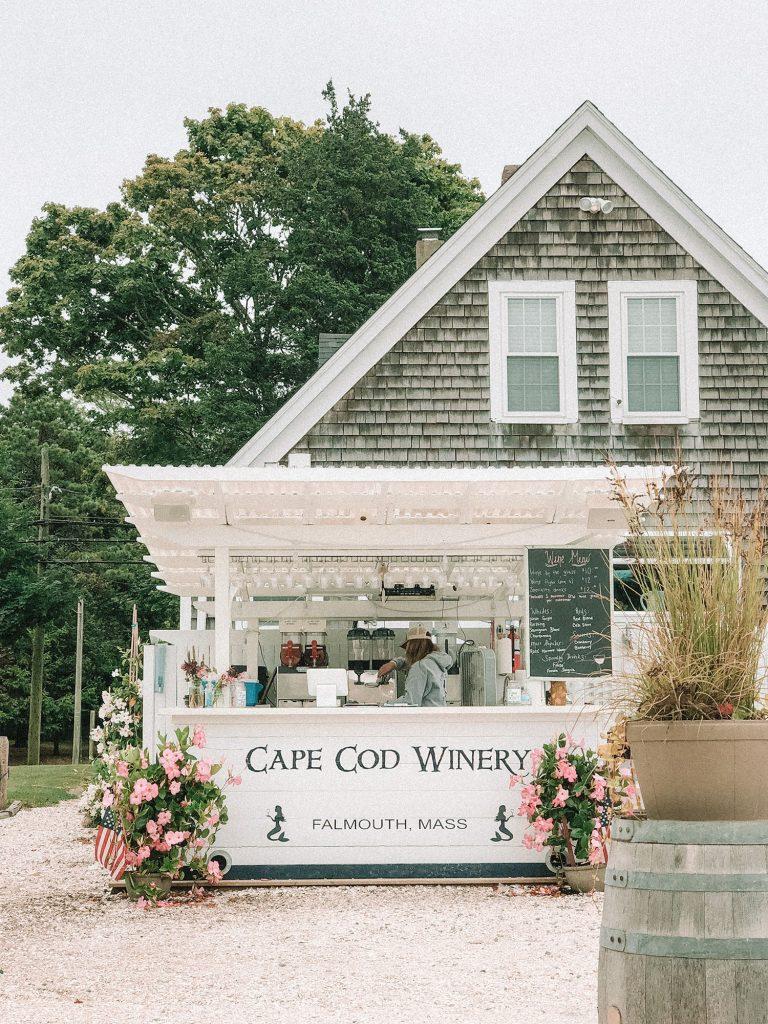 Cape Code Winery decor