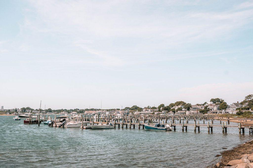 A marina in Edgartown