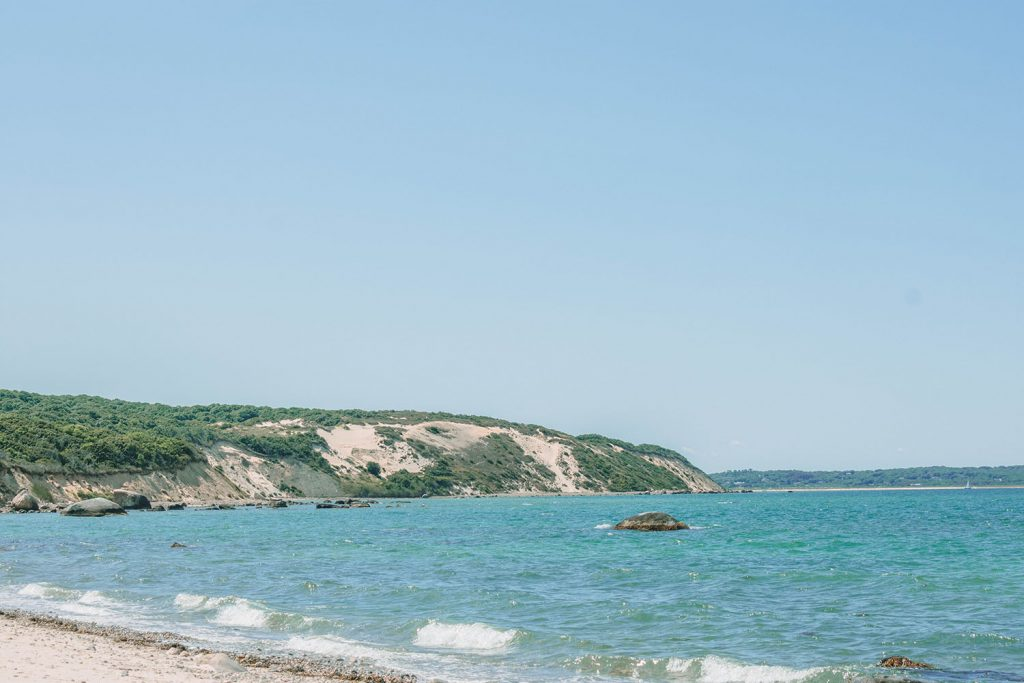 The beach at Great Rock Bight Preserve