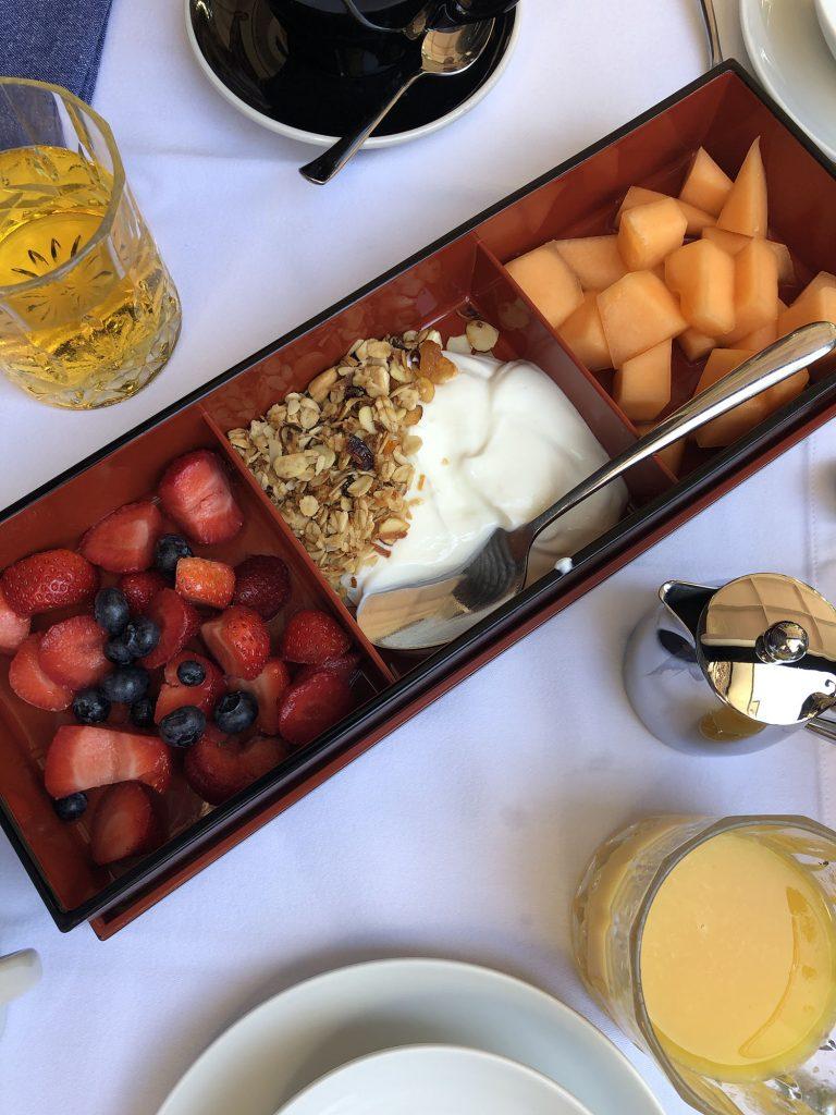 Breakfast at Nobnocket Boutique Inn in Vineyard Haven