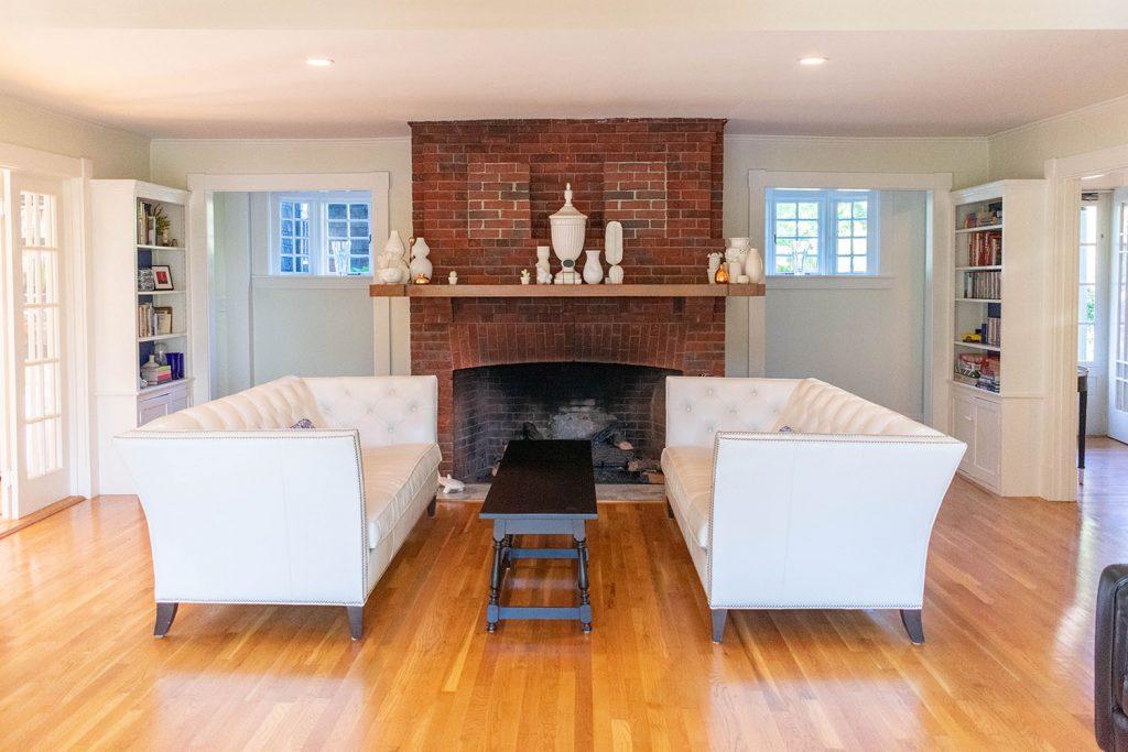 Living room space at Nobnocket