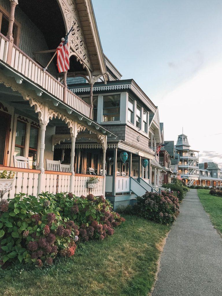 Beautiful Victorian cottages in Oak Bluffs