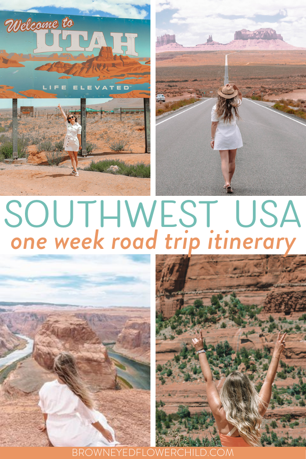 Southwest Road Trip Itinerary