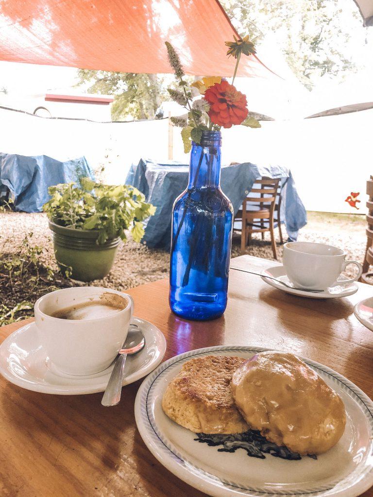 Breakfast in Falmouth