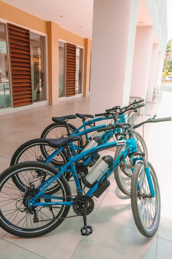 Electric bikes at the Divi and Tamarijn