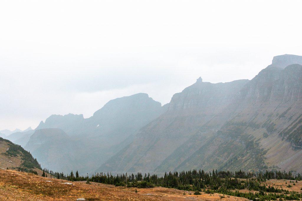 Logan Pass in Glacier National Park
