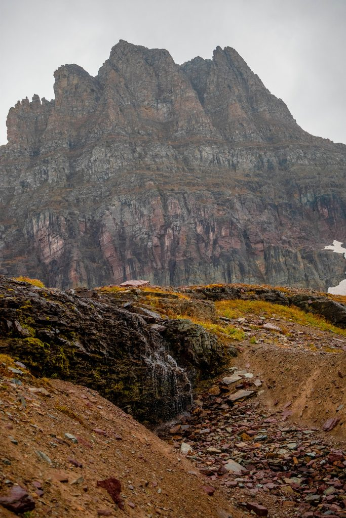 Beautiful mountains in Glacier National Park