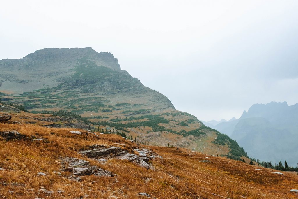 Breathtaking views of Logan Pass in Glacier National Park