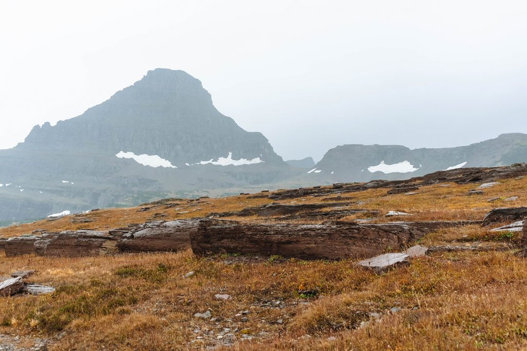 Beautiful glaciers on the best Montana road trip