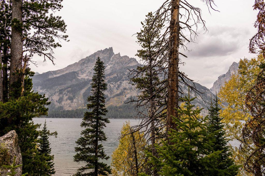 Grand Teton views on the Jenny Lake trail