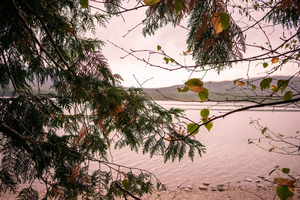 Gorgeous views of Lake McDonald in Montana