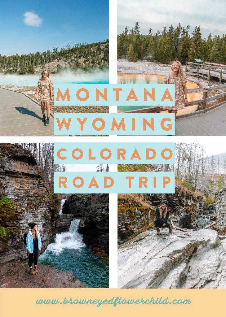 Montana, Wyoming and Colorado Road Trip