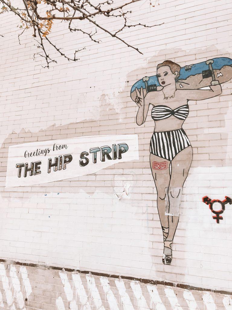 The Hip Strip in Missoula, Montana