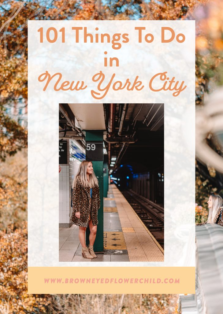 101 Things to do in New York City
