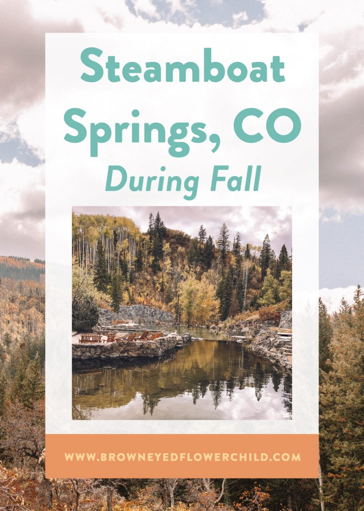 Steamboat Springs, CO during fall