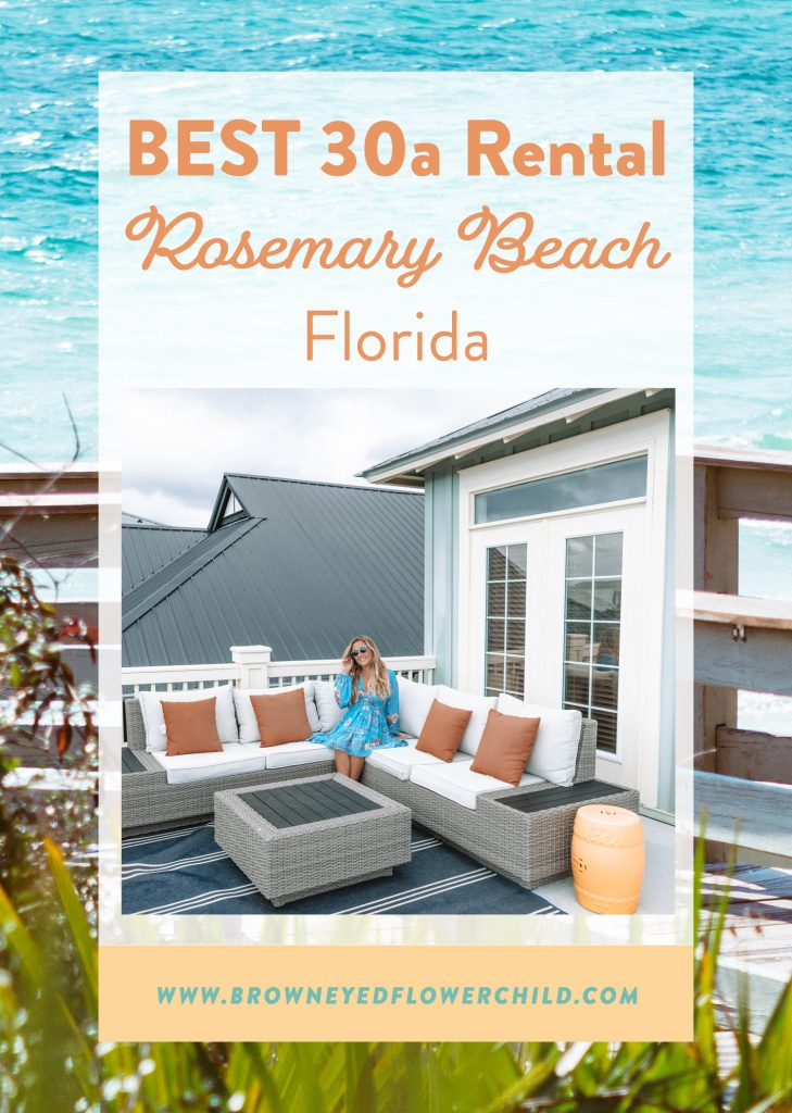 The best 30a rental in Rosemary Beach, Florida