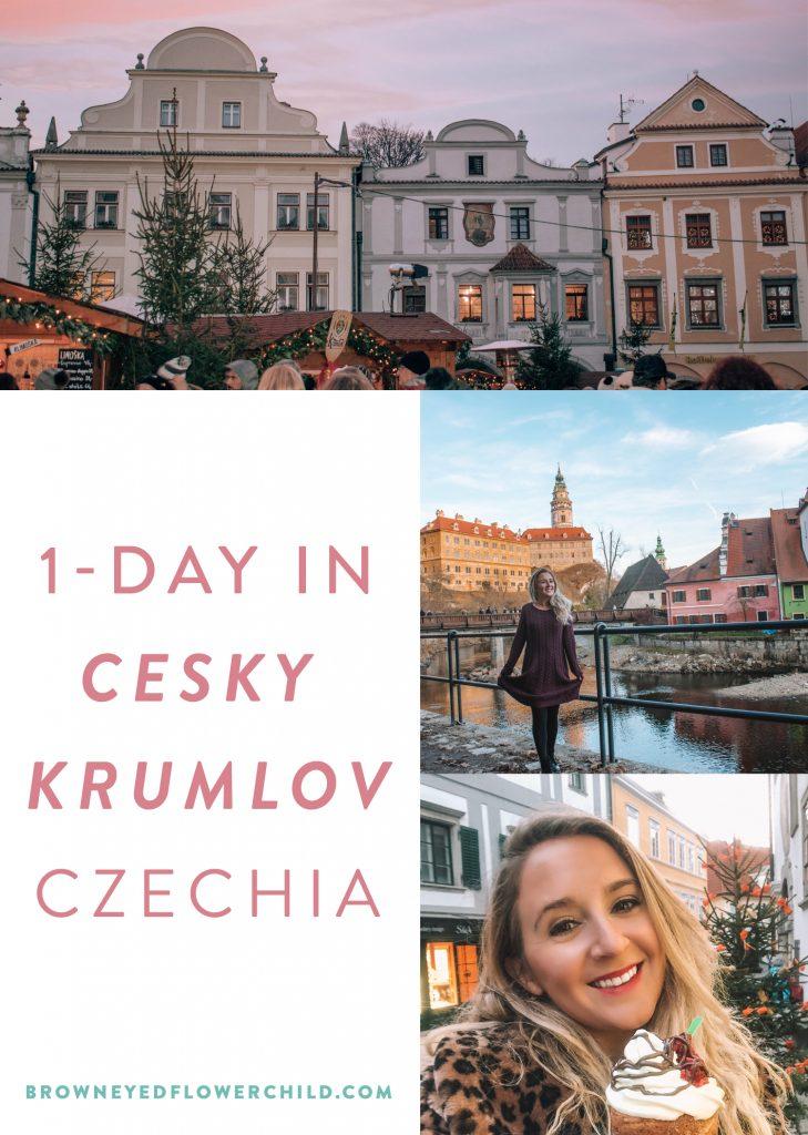 1-day in Cesky Krumlov, Czechia