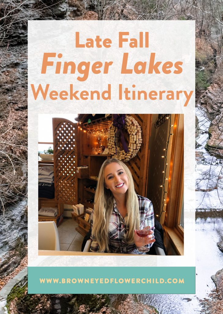 Late fall Finger Lakes weekend itinerary