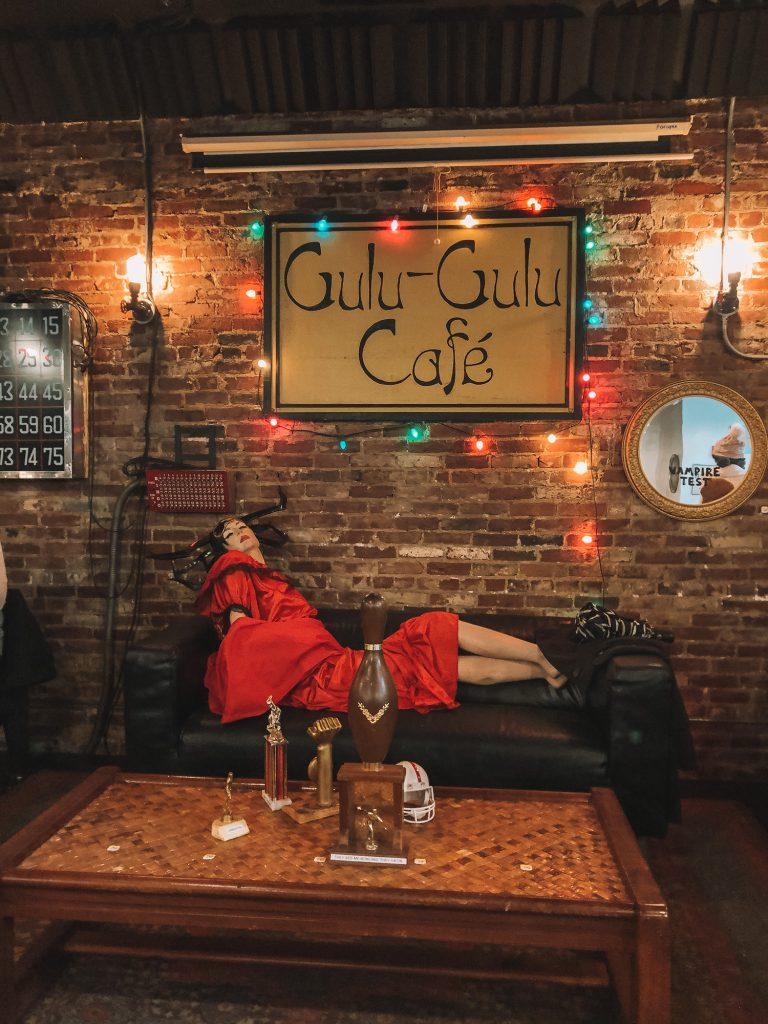 Gulu-Gulu Cafe during Halloween weekend in Salem
