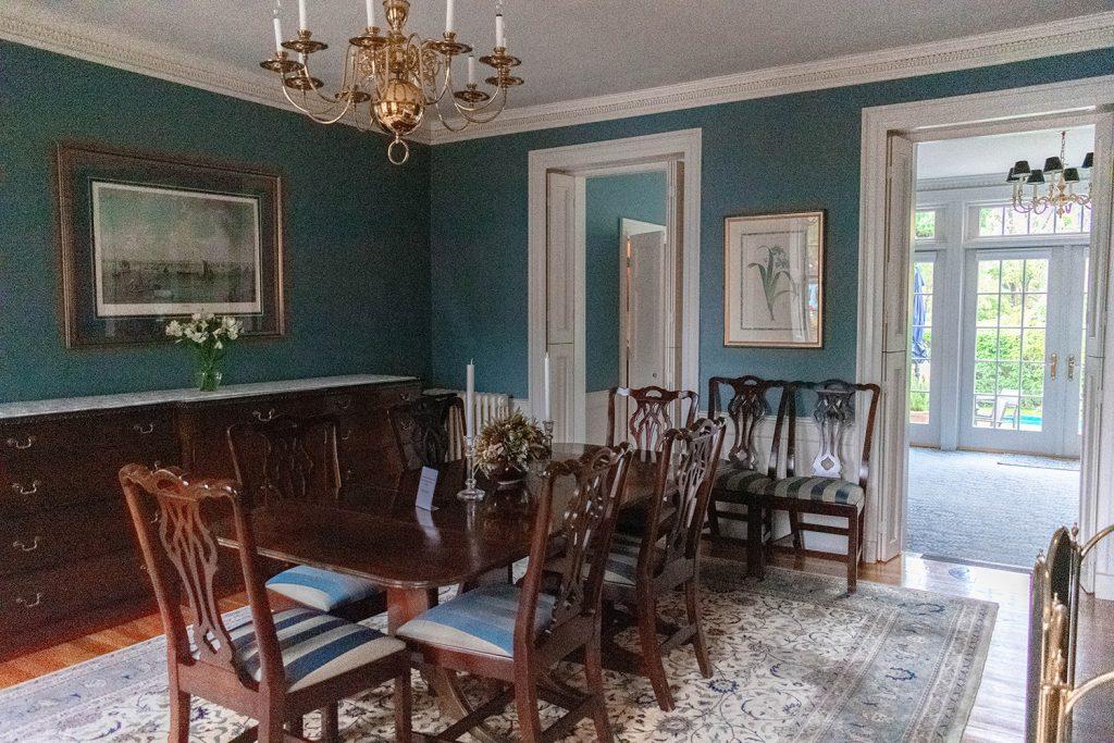 A beautiful room at Harbor Light Inn in Salem