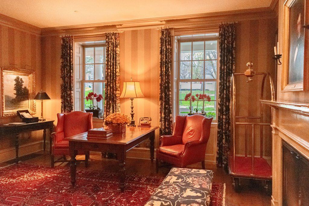 Inside the historic Inns of Aurora in New York