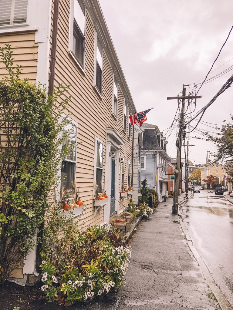 The historical streets of Marblehead
