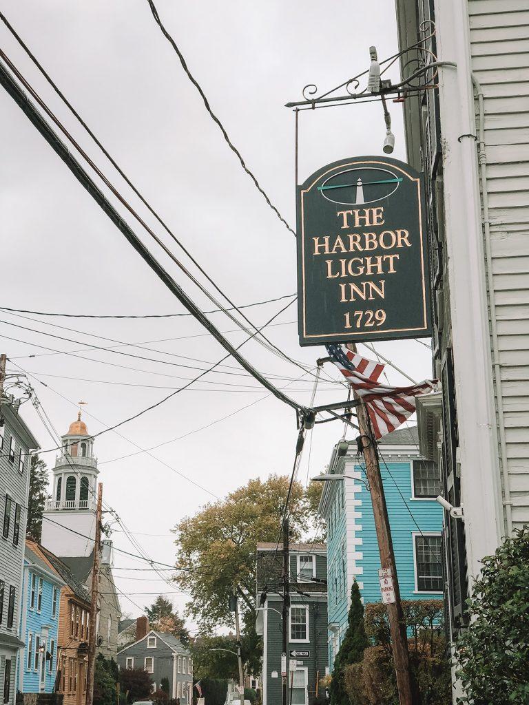 The Harbor Light Inn in Marblehead, Massachusetts