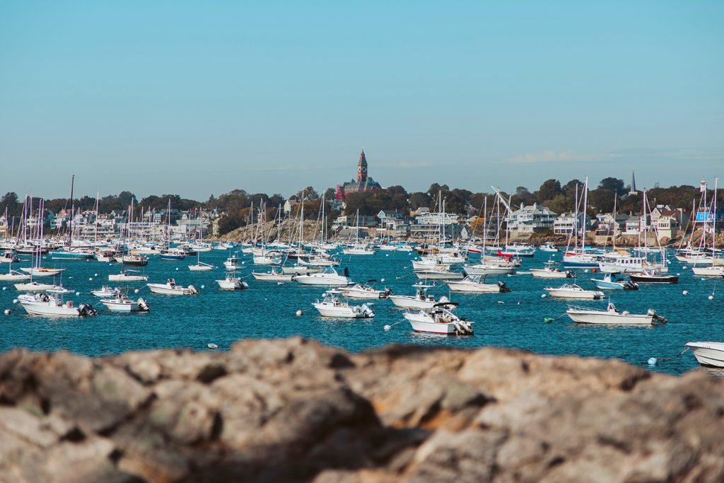 The coastal town of Marblehead, Massachusetts