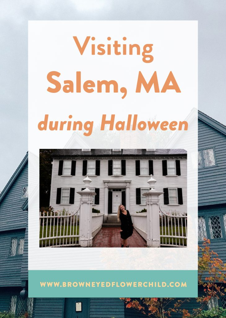 Visiting Salem, MA During Hallowen