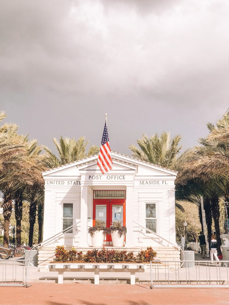 The Post Office in Seaside, Florida