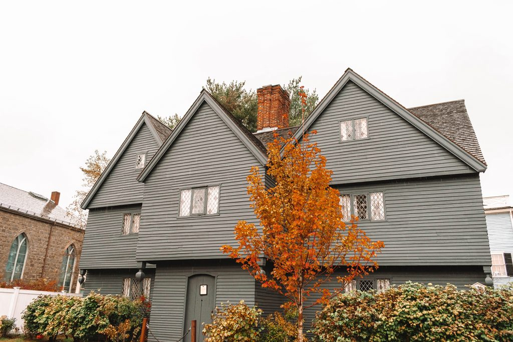 The Witch House in Salem, Massachusetts