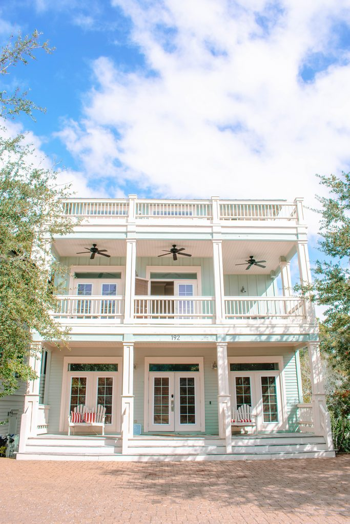 Yourcation Awaits vacation rental home in Rosemary Beach, Florida
