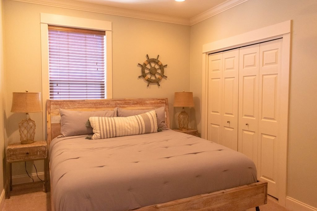 A bedroom at Yourcation Awaits beach house in Rosemary Beach, 30a