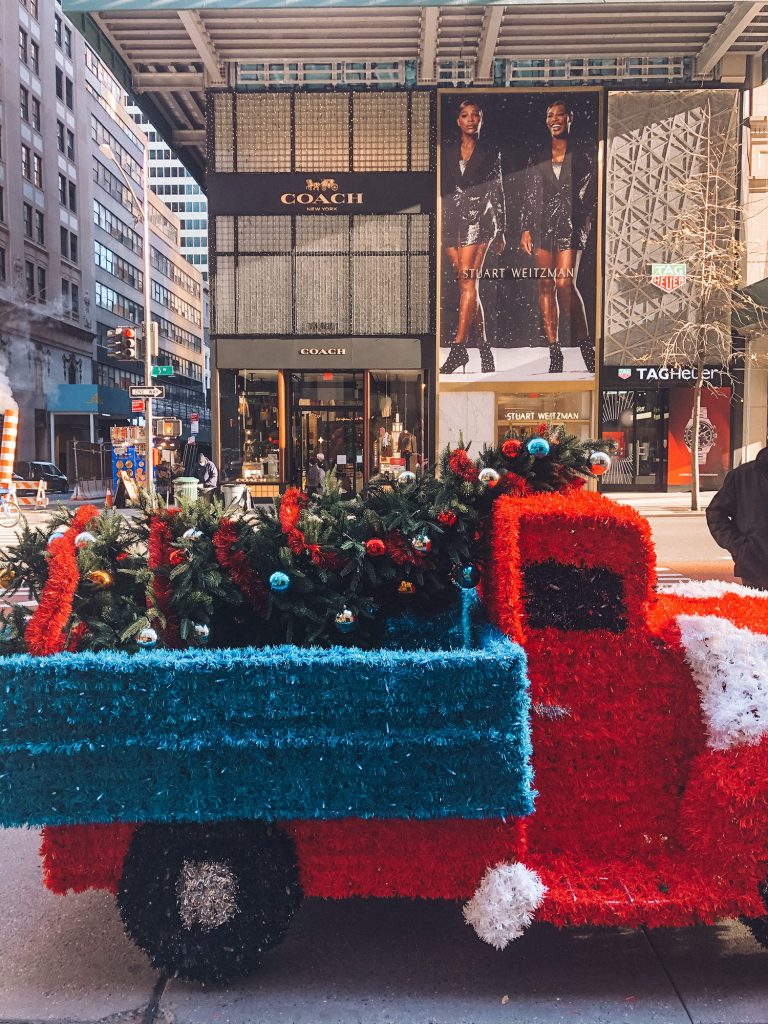 A Holiday Installation in Midtown NYC