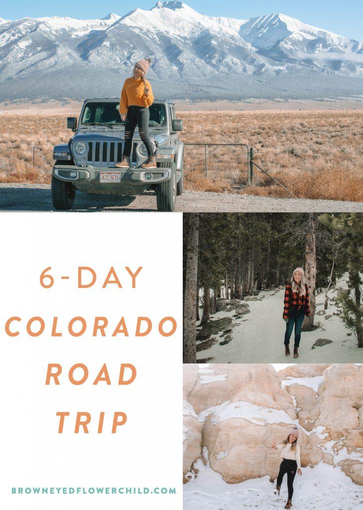 6-day Colorado road trip