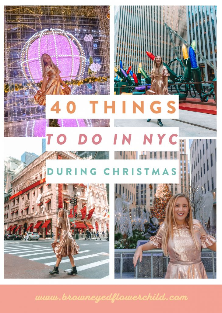 40 Things to do in NYC during Christmas