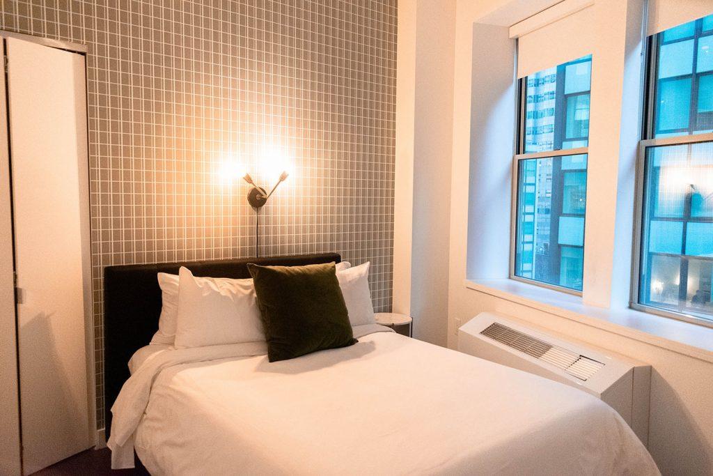 A Sonder bedroom in NYC