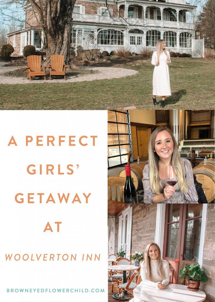 A perfect girls' getaway at Woolverton Inn