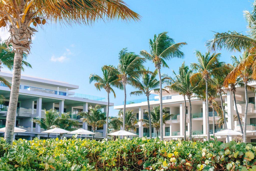 The Four Seasons luxury beach resort in Anguilla