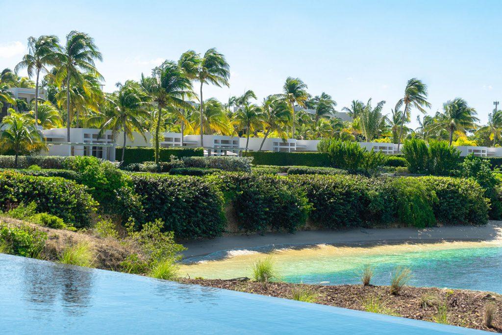 A view of Four Seasons Anguilla - private villas