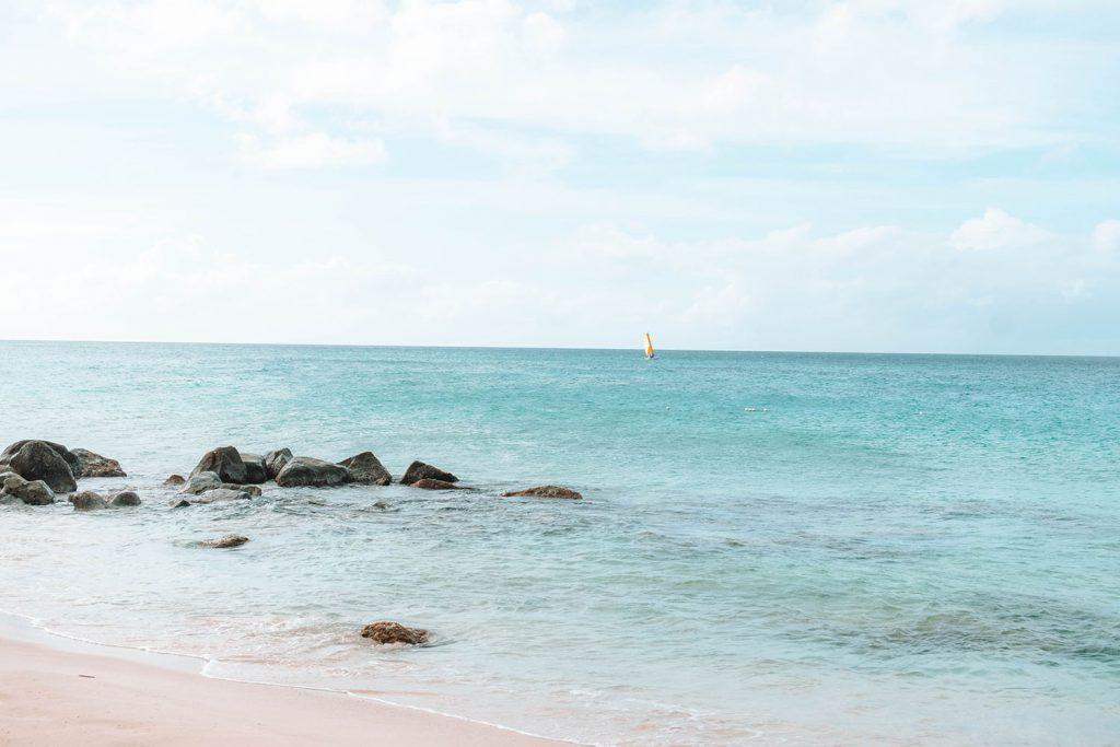 The Caribbean Sea in Anguilla