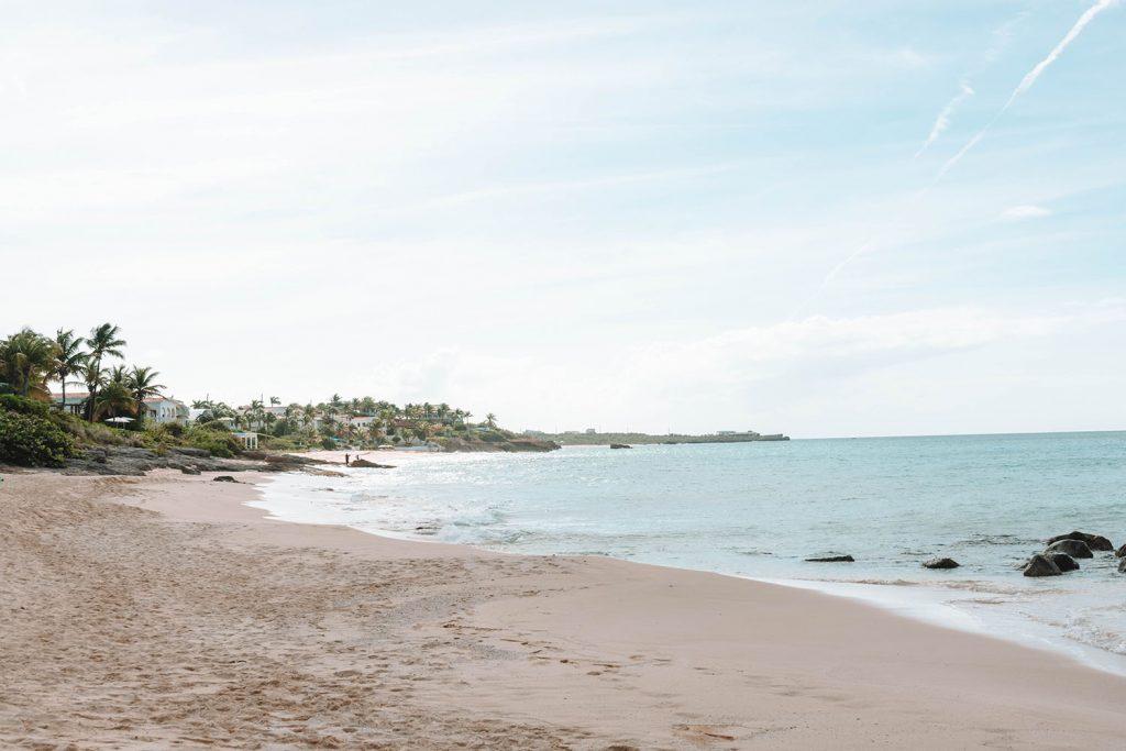 Barnes Bay Beach at Four Seasons Anguilla