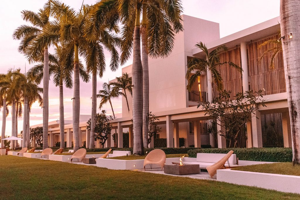 The property of Four Seasons Anguilla